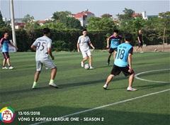 Sơn Tây League: FC May Sơn Hà và FC Sale cạnh tranh khốc liệt
