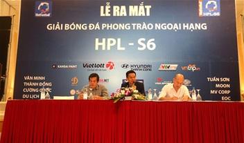 HPL-S6: Tiến Thành, Thành Lương khoác áo EOC, Moon có HLV V.League