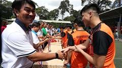 HLV vô địch cúp QG Trần Minh Chiến truyền cảm hứng chiến thắng ở cúp Tona