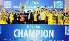 """Bầu Việt """"Quảng Ninh"""" được công kênh sau chức vô địch HPL-S6"""