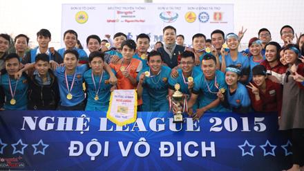 FC Anh Sơn lần thứ 2 vô địch Giải bóng đá xứ Nghệ khu vực miền Bắc