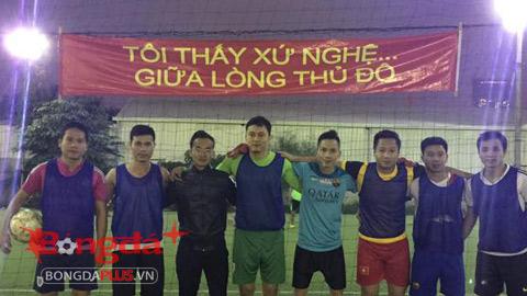 Sao Nghệ League chuẩn bị trước trận derby với Văn Minh