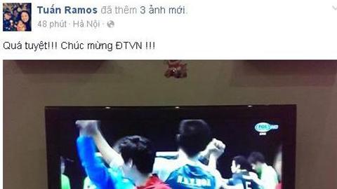 Giới phủi Hà thành chúc mừng ĐT futsal Việt Nam dự World Cup