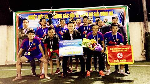 Tuấn bệu lập cú đúp, FC Đông Anh vô địch giải bóng đá truyền thống làng Phù Xá