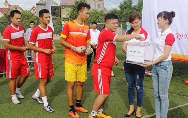 FC Văn Minh đánh bại FC HD Bank 4-3 tại Vinh