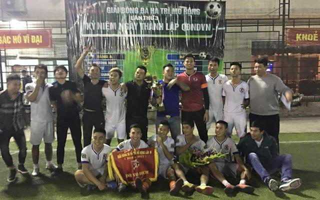 FC Gia Việt vô địch giải Hà Trì mở rộng lần thứ 3