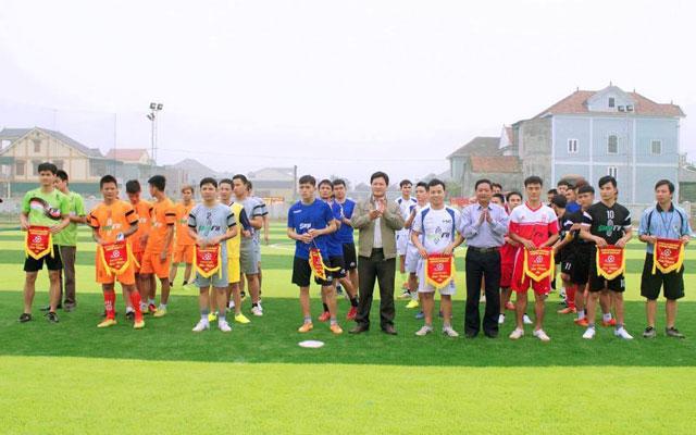 Ngày 23/1 khai mạc giải bóng đá Yên Thành mở rộng lần 2
