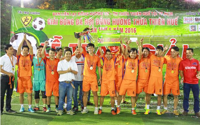 Hạ Vinh Hải Vinh Hiền, Inox Bình Yên vô địch Huế Cúp tại TP.HCM