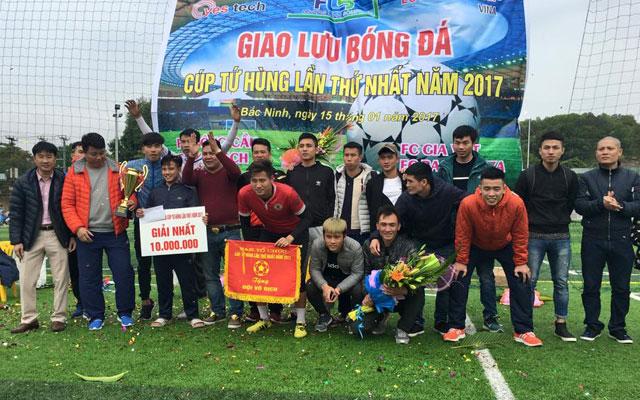 Gia Việt vô địch cúp Tứ hùng Bắc Ninh lần thứ nhất 2017