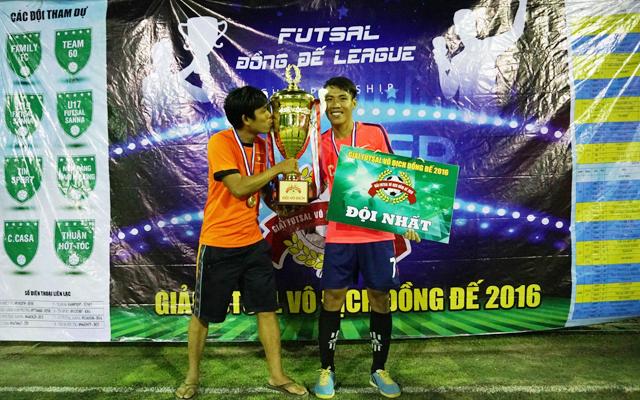 C-Casa giành ngôi vua giải Đồng Đế League 2016