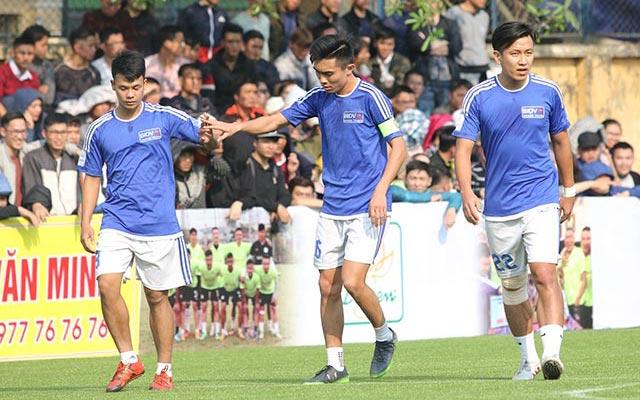 Đội hình tiêu biểu vòng 1 Le League 2017: Bộ khung từ BIDV Quang Trung