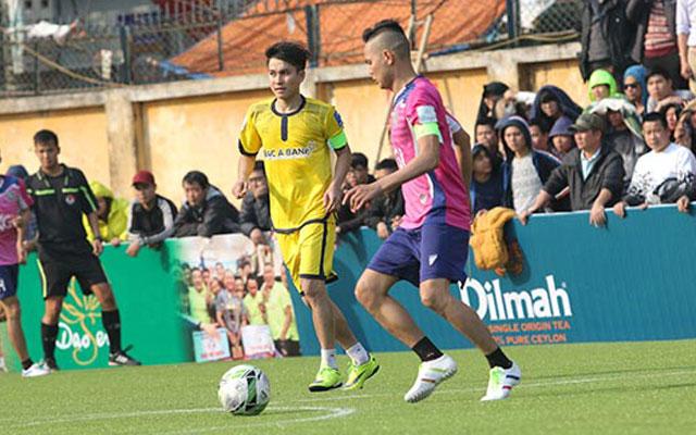 Highlight Bắc Á Bank 1-2 Thành Đồng (vòng 1 Le League 2017)