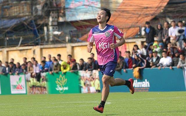 """Huy """"con"""": """"Hạt đậu nhỏ"""" của FC Thành Đồng"""