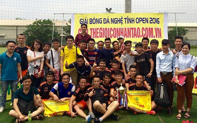 Giải bóng đá phong trào Nghệ Tĩnh Open 2017 sắp khởi tranh