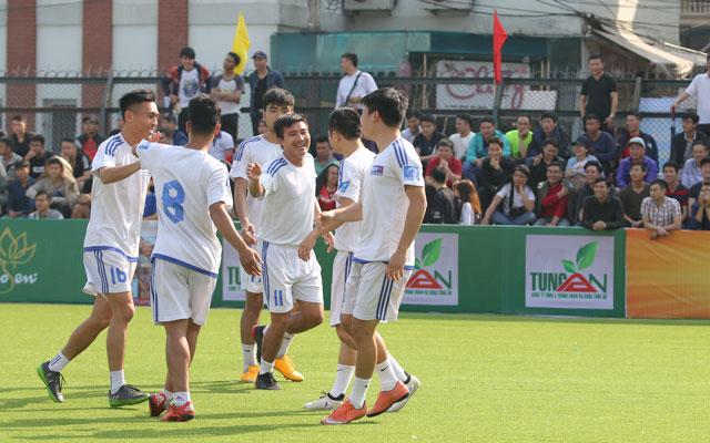 Vòng 2 Le League 2017: BIDV Quang Trung và Trà Dilmah lại thắng