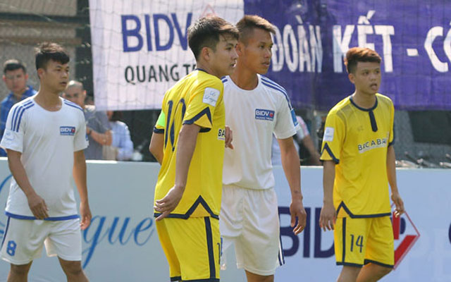 Highlight BIDV Quang Trung 3-1 Bắc Á Bank (vòng 2 Le League 2017)