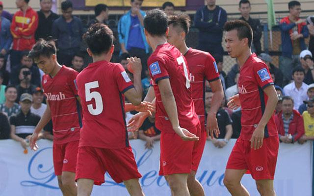 Highlight Trà Dilmah 2-1 Tùng Ân Hoa Lư (vòng 2 Le League 2017)