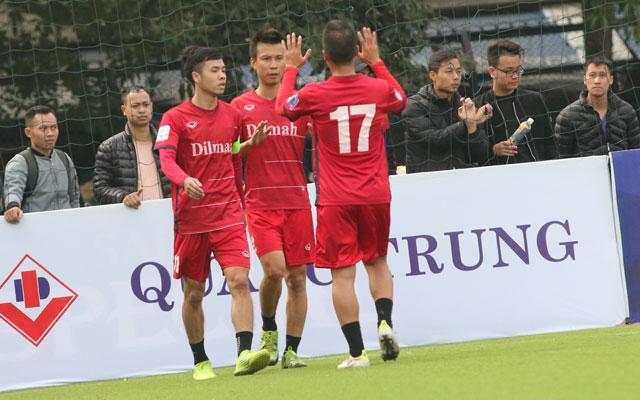 Vòng 3 Le League 2017: Trà Dilmah độc chiếm ngôi đầu