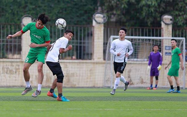 Khai mạc giải bóng đá Chào xuân Yên Xá lần thứ 1
