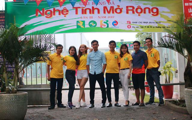 Cộng đồng xứ Nghệ miền Nam hào hứng chờ ngày khai màn giải Nghệ Tĩnh mở rộng 2017