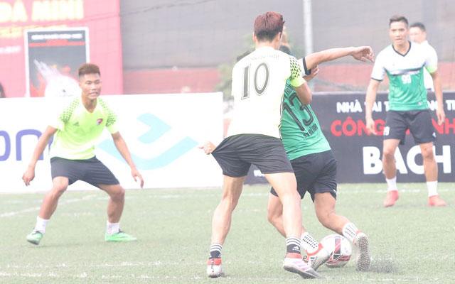 Vòng 3 giải Mikado Hà Nội Champions League 2017: Top Group bị loại, Khương Thượng thắng lớn
