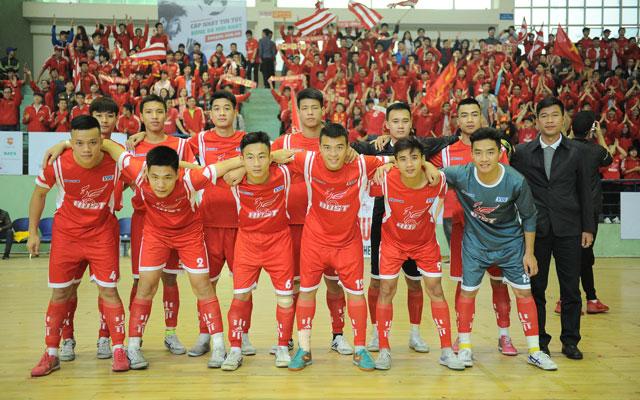 Điểm mặt các đội bóng vòng 1/8 giải Futsal VUG - Hà Nội 2017 (phần I)