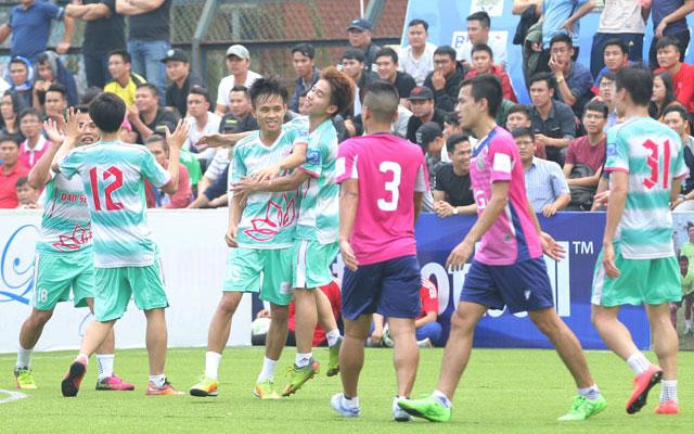 Highlight Thành Đồng 3-4 Đảo Sen (vòng 5 Le League 2017)