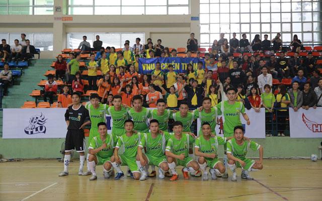 Điểm mặt các đội bóng vòng 1/8 Futsal VUG - Hà Nội 2017 (Phần II)