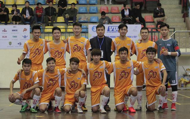 Điểm mặt các đội bóng vòng 1/8 Futsal VUG - Hà Nội 2017 (phần III)