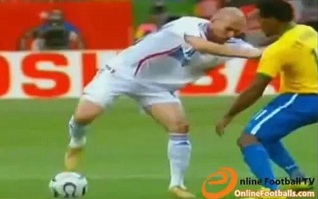 Động tác giả: The Zidane Fake