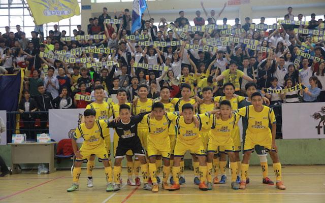 Điểm mặt các đội bóng vòng 1/8 Futsal VUG - Hà Nội 2017 (phần cuối)