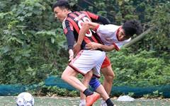 HLV Triệu Quang Hà cùng các học trò vô địch giải Licogi 13 Tower