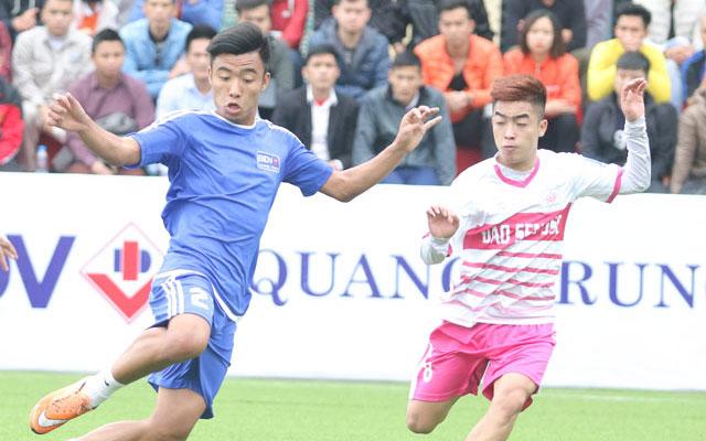 Highlight BIDV Quang Trung 1-0 Đảo Sen (vòng 6 Le League 2017)