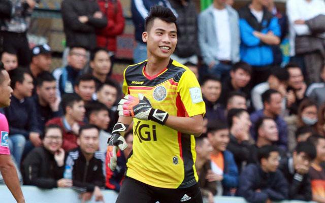 Bàn thắng đáng nhớ của thủ môn Tiến Triệu vào lưới Trà Dilmah