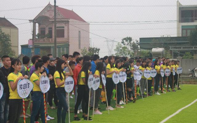 Háo hức chờ lễ khai mạc giải Bóng đá Diễn – Yên – Quỳnh mở rộng lần 1- 2017