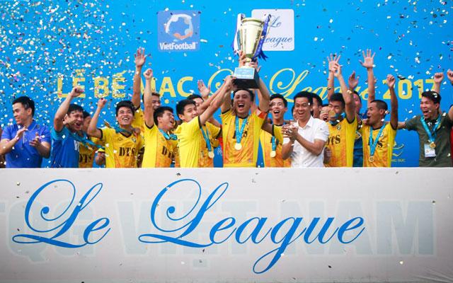 5 phút cuối căng như dây đàn, DTS đăng quang Le League 2017