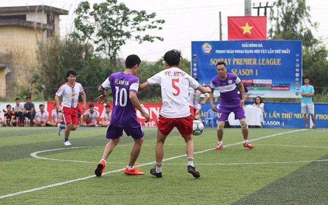Vòng 2 giải Ngoại hạng Sơn Tây: Vòng đấu của những bất ngờ
