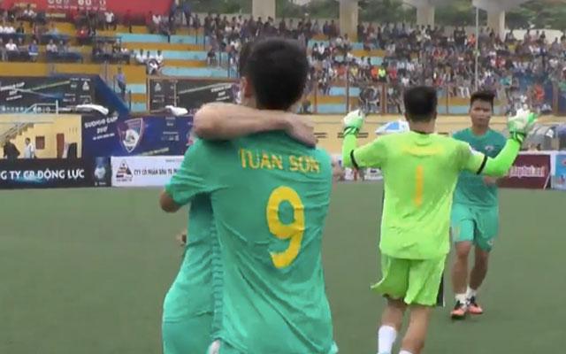 Highlight Tuấn Sơn 1-3 Tùng Ân Hoa Lư (vòng 1 Sudico Cup 2017)