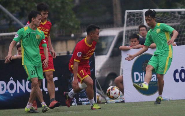 Highlight MV Corp 0-2 Văn Minh (vòng 1 Sudico Cup 2017)