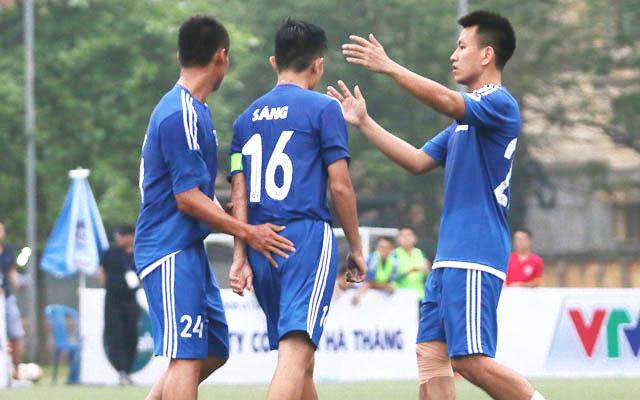 Vòng 3 Sudico Cup 2017: BIDV Quang Trung rộng cửa đi tiếp