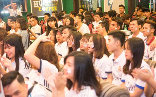 Sôi động buổi offline El Clasico của Hội CĐV Real Madrid tại Hà Nội