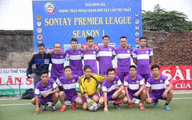 Vòng 5 Ngoại hạng Sơn Tây: FC Anh Em vô địch giai đoạn 1