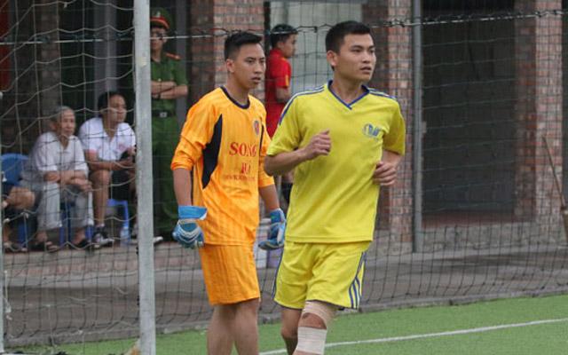 Cựu cầu thủ Hà Nội ACB lập hat-trick giúp Thoát nước Hà Nội vô địch