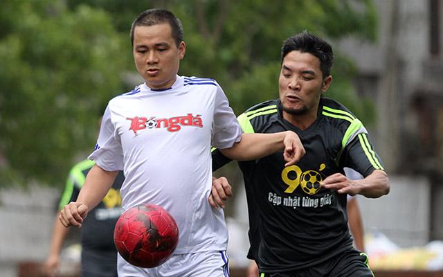 Báo điện tử Bóng đá thi đấu giao hữu với Cty CP truyền thông đa phương tiện Gia Minh