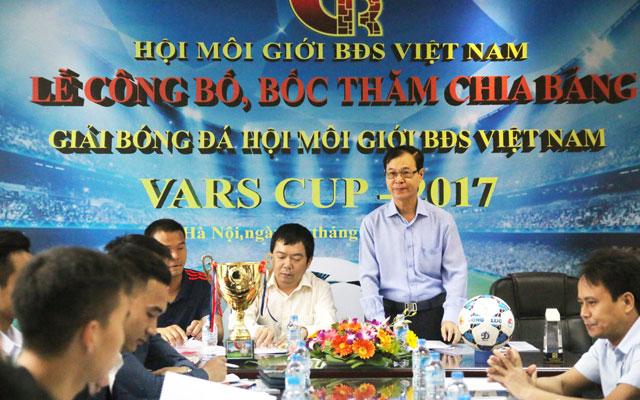 Công bố lịch thi đấu giải bóng đá hội môi giới BĐS Việt Nam 2017