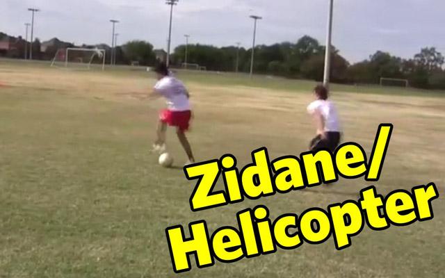 Kỹ năng đá bóng: Roulette kiểu Zidane