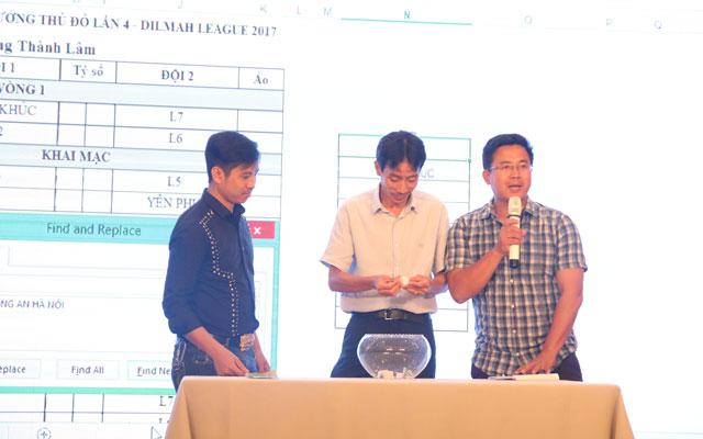Lịch thi đấu giải Lão tướng Thủ đô lần 4 - Dilmah League & Dilmah Cup 2017