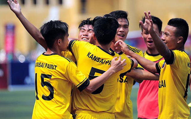 Vòng play-off Hạng Nhất - Cúp Bia Saigon Special 2017 sẽ khởi tranh vào ngày 13/5