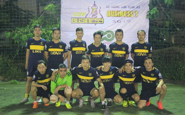 Khởi tranh giải bóng đá Business 7 - SportPro Cup 2017