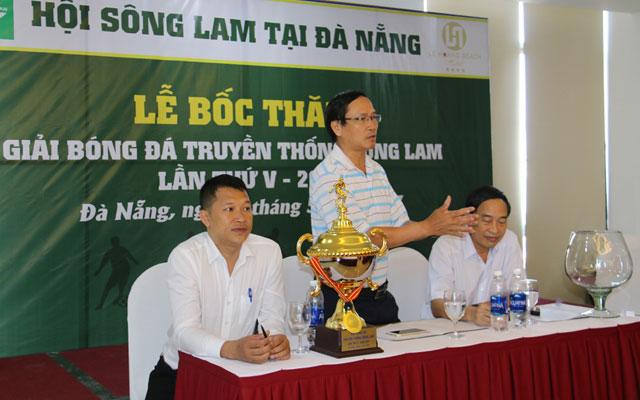Bốc thăm giải bóng đá Truyền thống Sông Lam lần V-2017
